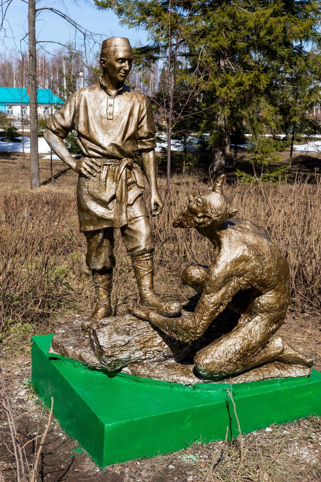 Фото №273389. Скульптурные композиции по мотивам произведений Г.Тукая