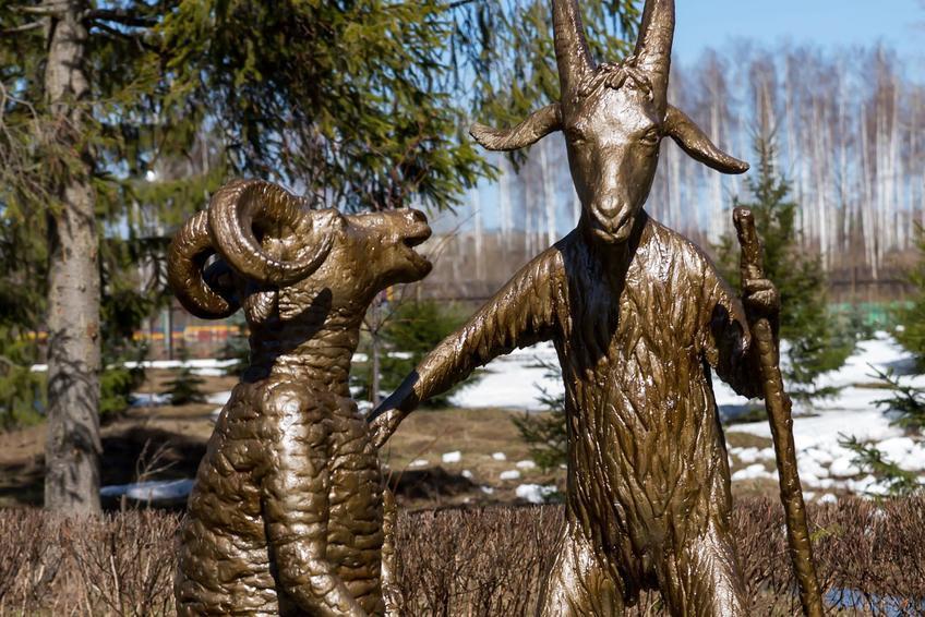 Фото №273413. Скульптурные композиции по мотивам произведений Г.Тукая