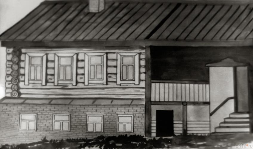 Фото №273613. Медресе «Мутыйгия», где учился Г.Тукай. С рисунка