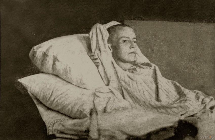 Фото №273703. Г.Тукай в Клячкинской больнице Казань. Фото Г. Якобсона. 14 (1) апреля 1913