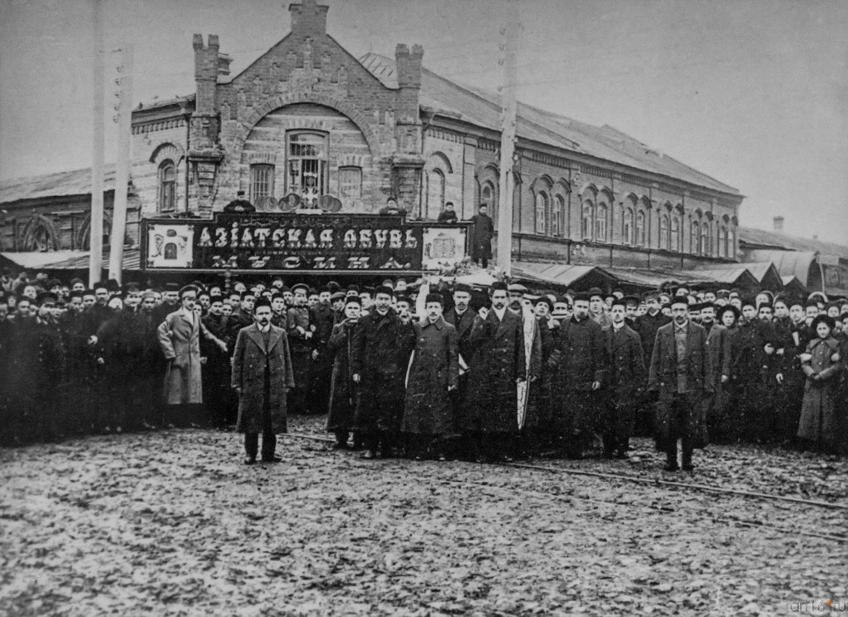 Фото №273715. Похороны Г. Тукая. Казань 4 (17) апреля 1913