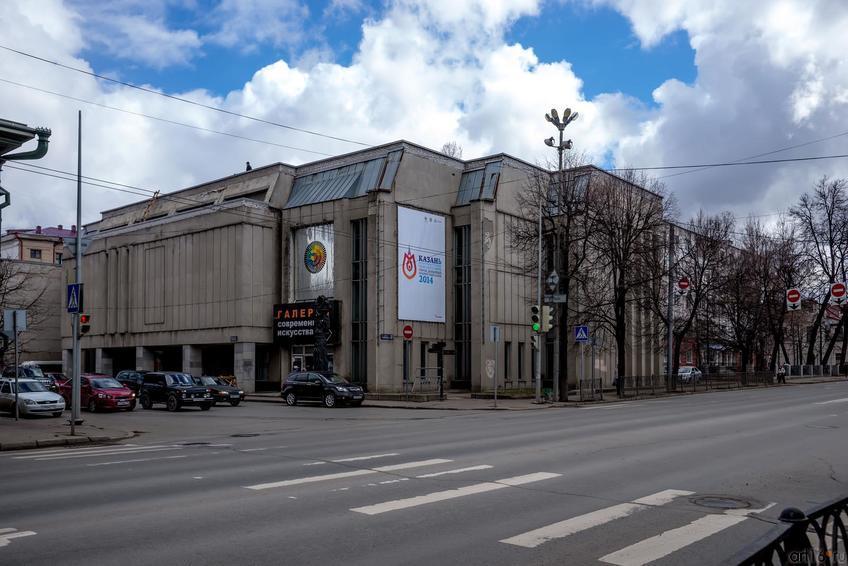 улица Карла Маркса, 57 (ГСИ ГМИИ РТ) ::24.04.2014 К.Маркса (до пл.Свободы) и окрестности