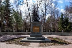 Памятник Г.Державину, Лядской сад, ул. Максима Горького