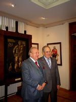 Радушная встреча Президента РТ