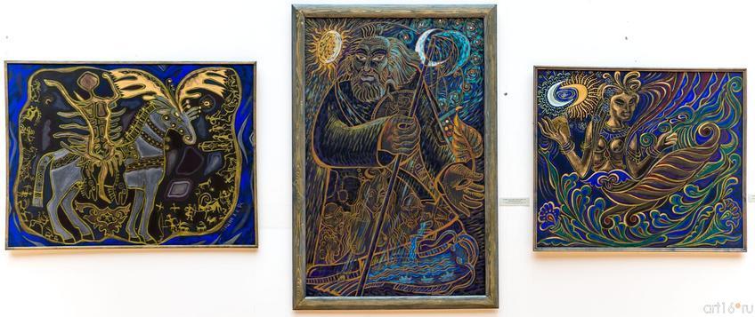 Пашин А.А.::Четыре судьбы в искусстве. Виктор Сынков, Александр Халдеев, Алексей Карпенко, Анатолий Пашин