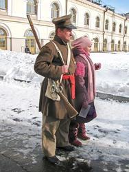 Фото с солдатом