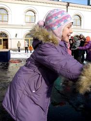Веселье на проводах Зимы