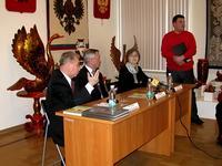 Пресс-конференция перед открытием выставки