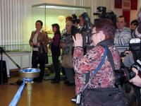 СМИ на церемонии открытия выставки-смотра