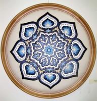 Багдад. 2002 . Кожаная мозаика