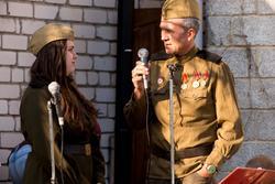 Фестиваль военной песни к 9 мая 2014