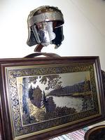 Шлем знатного воина Казанского ханства 15-16 вв. 2008 /Гравюра на стали