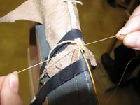 Затягиваем образовавшийся узелок