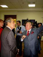 Президент РТ М. Шаймиев и Президент РАХ  З. Церетели