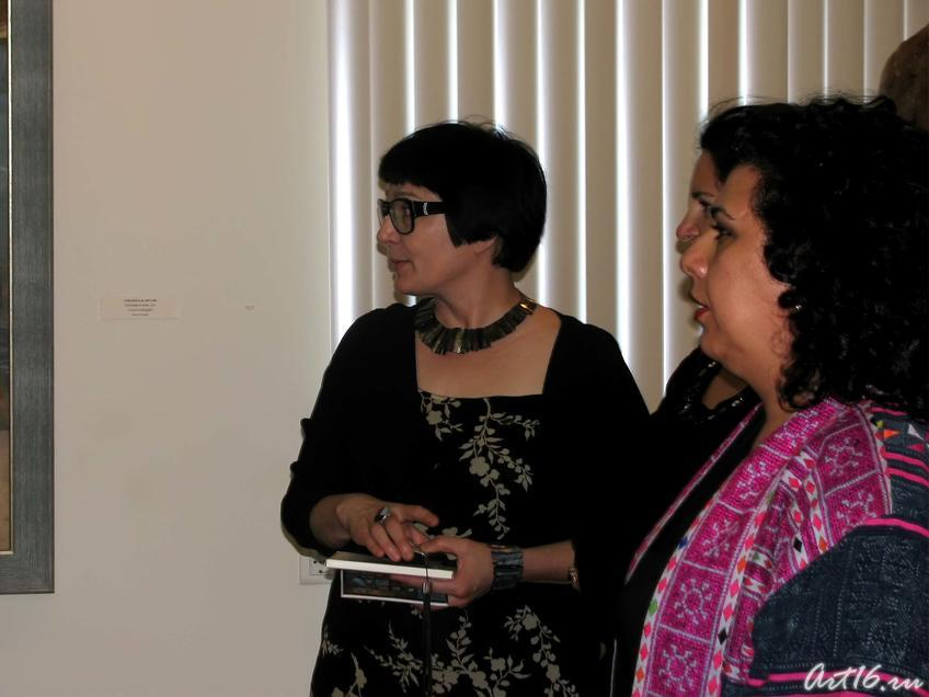 Фото №30682. Розалия Нургалеева с гостьями