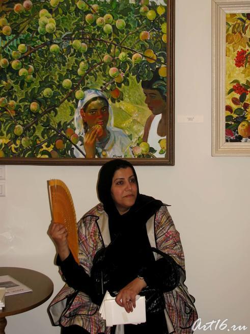 Гостья из Кувейта::Визит в Республику Татарстан мусульманок Государства Кувейт