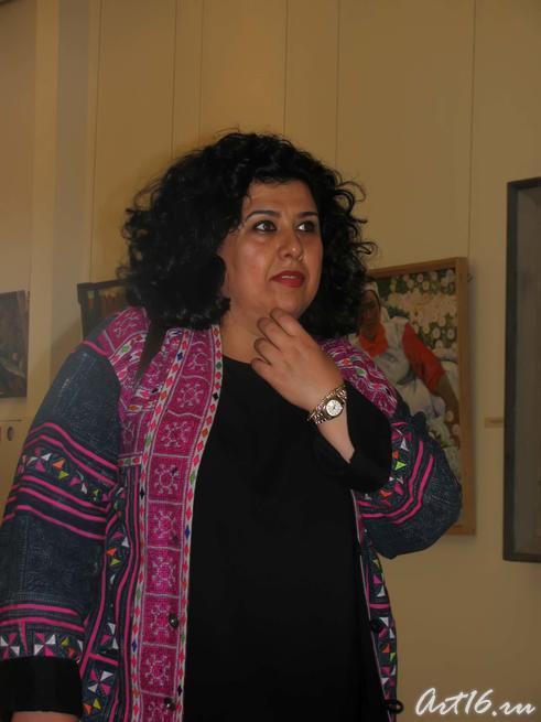 Знакомство с творчеством художников РТ::Визит в Республику Татарстан мусульманок Государства Кувейт