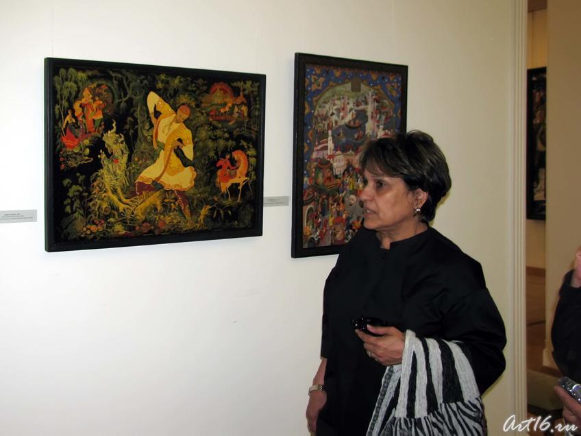 Знакомство с творчеством художников РТ_09::Визит в Республику Татарстан мусульманок Государства Кувейт