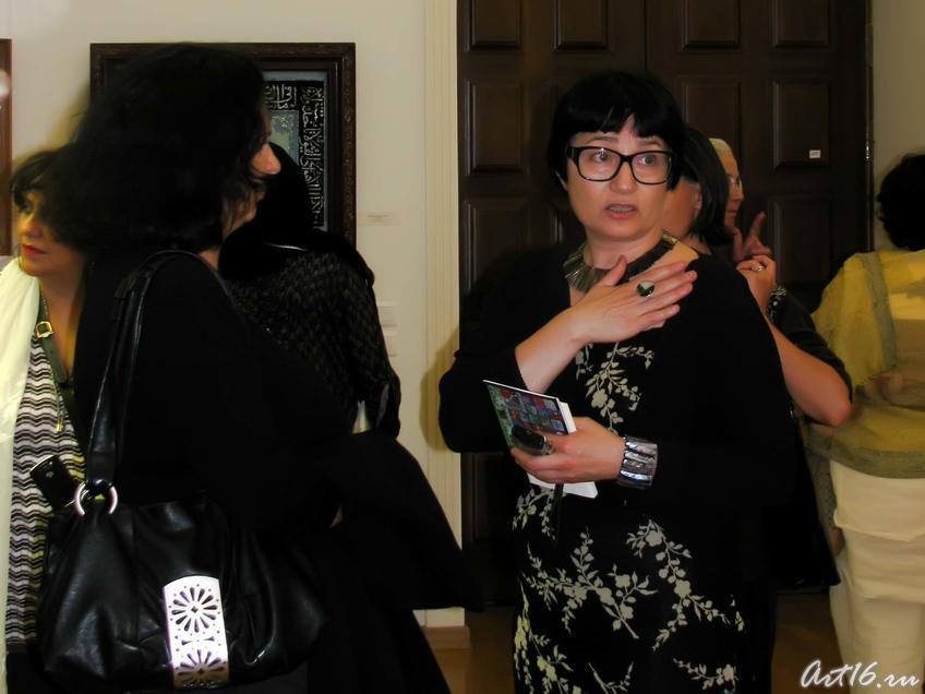Розалия Нургалеева::Визит в Республику Татарстан мусульманок Государства Кувейт
