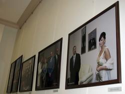Экспозиция фотовыставки Фарида Хайрулина