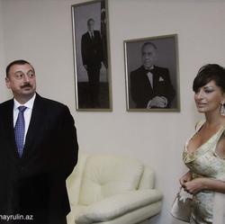 Президент РА Ильхам Алиев и Первая леди Мехрибан Алиева