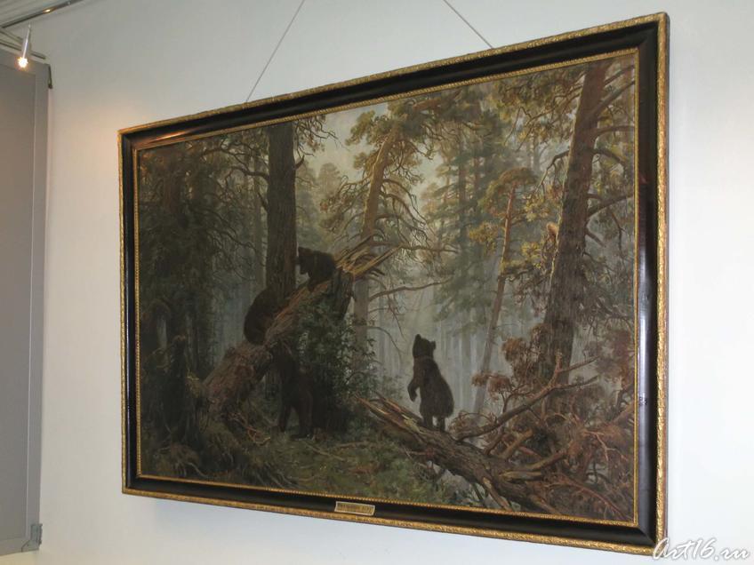 Фото №31313. Утро в сосновом лесу,1889 (копия)