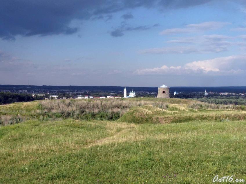 Вид на Елабужское (Чёртово) городище