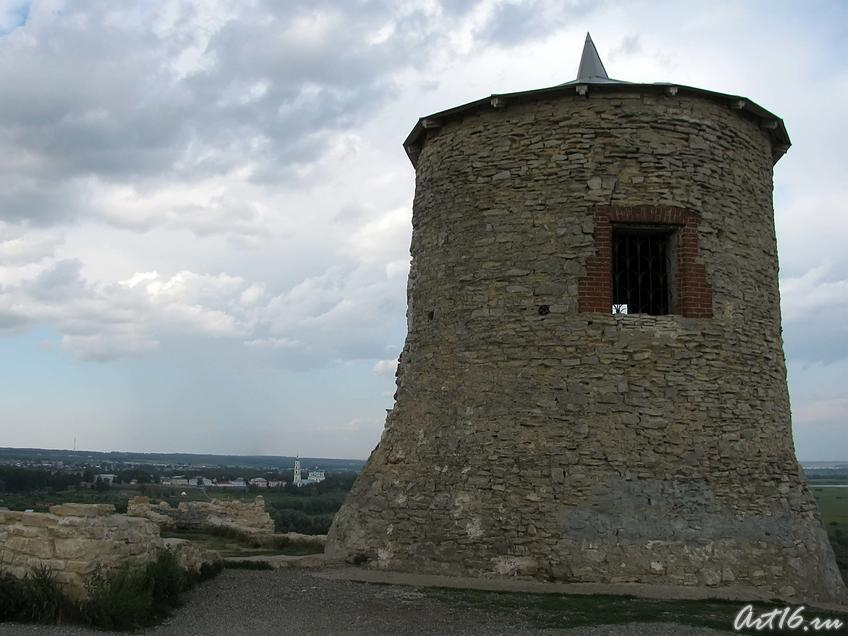Фото №31493. Каменная сторожевая башня Чертова (Елабужского) городища