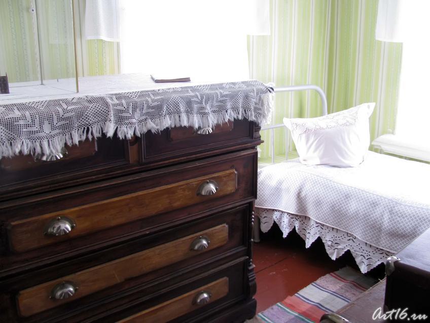 Фото №31655. Спальня Марины Цветаевой