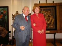Зураб Церетели и Зиля Валеева
