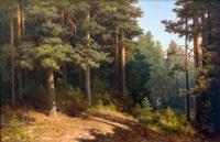 Пейзаж, натюрморт в живописи Кондрата Максимова