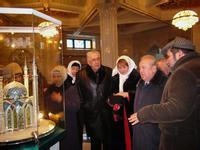 Именитые гости в мечети Кул Шариф