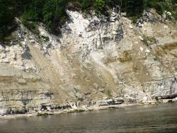 Скалистый правый берег Волги