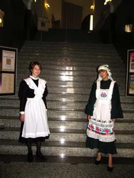Встреча гостей музея