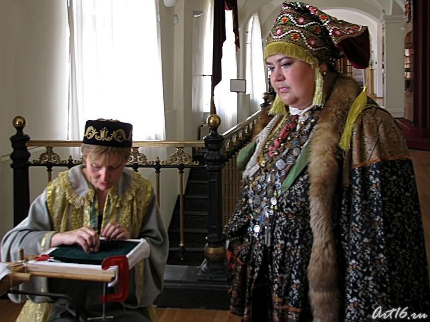 Парадный костюм татарской женщины  (нач. XIXв)::«Ожившая экспозиция»