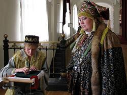 Парадный костюм татарской женщины  (нач. XIXв)