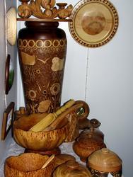 Деревянная посуда.Творческая мастерская Беленко.