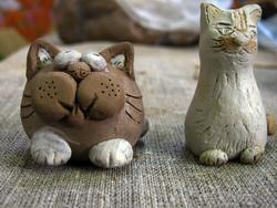 Роспись глиняных игрушек. Вот что получилось
