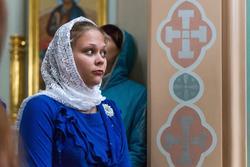 Ксения Гришина-солистка ансамбля духовной музыки БЛАГОВЕСТ