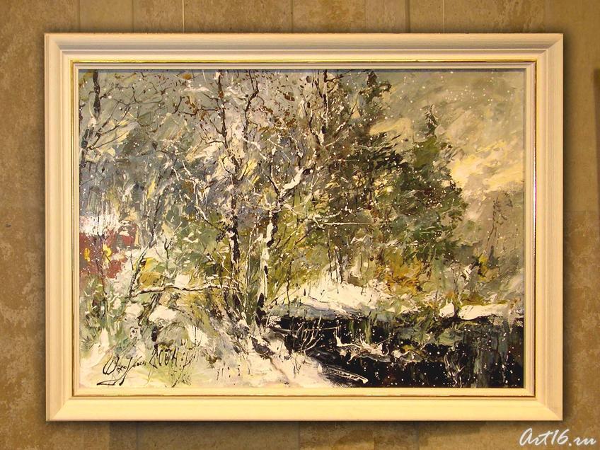 Первый снег::Александр Шадрин. Персональная выставка