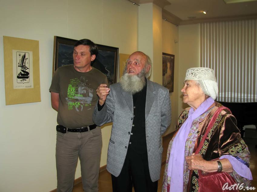 Владимир Попов рассказывает о своей работе::Попов Владимир Александрович