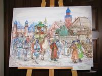 Обновление экспозиции галереи ''Хазине''