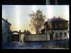 Вечер. Дом Серафимы. 2005