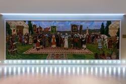 К 1125 годовщине принятия ислама Волжской Булгарией. 2014г.