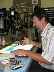 Александр Петров рисует море