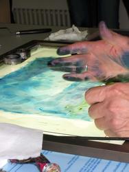 Руки художника