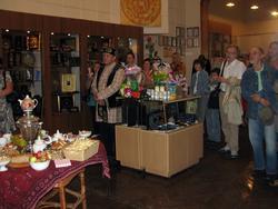 На открытии выставки Е.Титовой