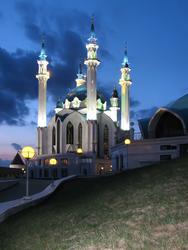 мечеть Кул Шариф. Вид с юга