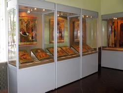 Экспозиция 2-х залов:''Древнерусское искусство'' и ''Сюжеты икон Праздничного чина''