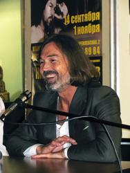 Никас Сафронов. Пресс-конференция